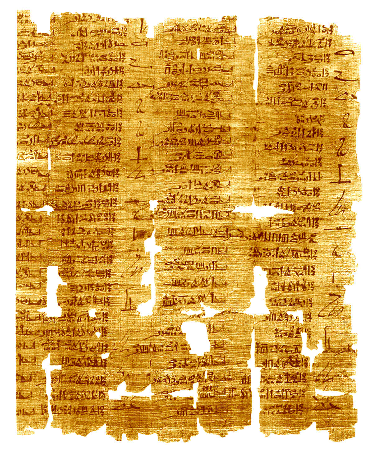 ancient egyptian writing system
