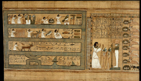 Papyrus from the Book of the Dead of Any
